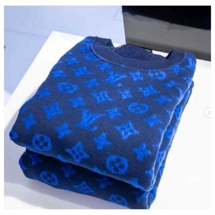shop louis vuitton  aw crew neck pullovers monogram blended fabrics street style acpn