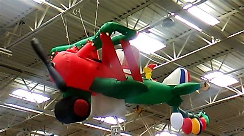 animated airblown inflatable acbc snoopy  woodstock