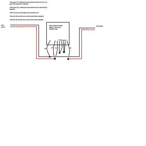 Square Buck Boost Transformer Wiring Diagram Free