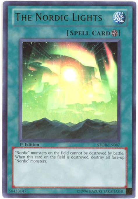 yu gi  card stor en  nordic lights ultra rare holo bbtoystorecom toys plush