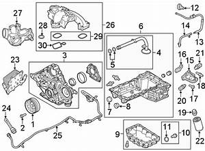 Ford F-450 Super Duty Engine Intake Manifold  Lower  Liter  Diesel