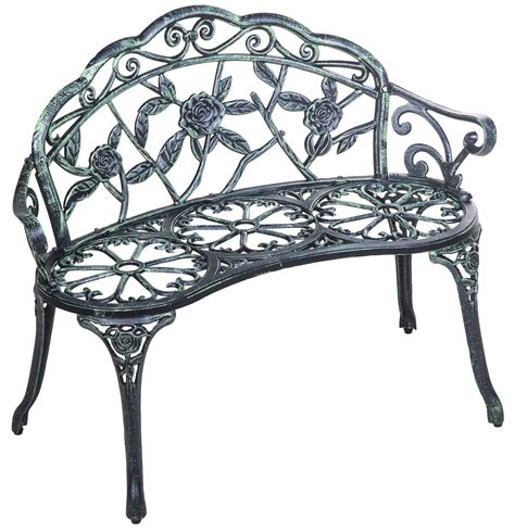 merax cast iron antique style outdoor patio garden