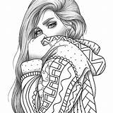 Coloring Adult Portrait Colouring Pages Sheet Clothes Printable Etsy Pdf Relaxing Stress Anti Fabulous Disney Line Loading Zentangle Il Verkocht sketch template