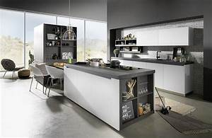 Küchenzeile Mit Insel : grifflose k chenzeile mit insel ~ Michelbontemps.com Haus und Dekorationen
