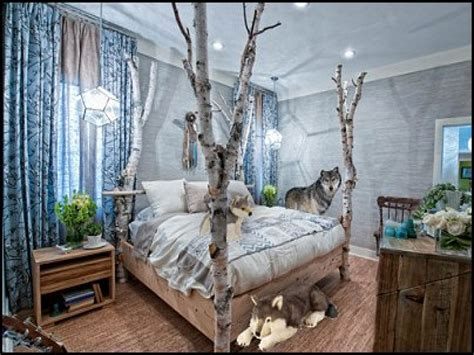 american bedrooms forest decorating ideas wolf bedroom