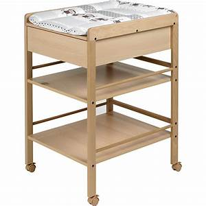 Dimension Table à Langer : table langer avec tiroir avant naturelle lotta de geuther sur allob b ~ Teatrodelosmanantiales.com Idées de Décoration