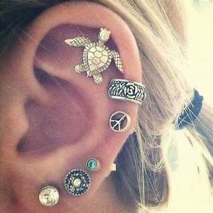 Piercings Chart Gallery For Gt Cool Ear Piercings For Girls Tumblr