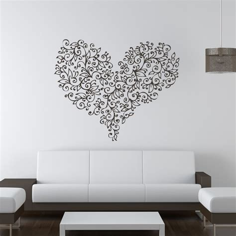 floral flowers wall stickers wall decal transfers ebay