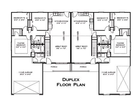 duplex floor plan interesting pinterest duplex