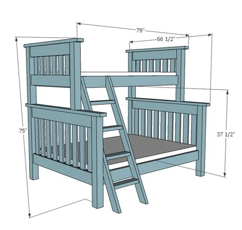 amazing bunk bed plans  kids rooms