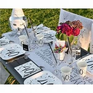 Deco Table Anniversaire 60 Ans : gobelet carton anniversaire 60 ans les 10 d co ~ Dallasstarsshop.com Idées de Décoration