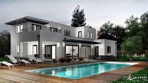 palmyre villa d39architecte en charente maritime With modele de maison en l 2 photos maison darchitecte contemporaine