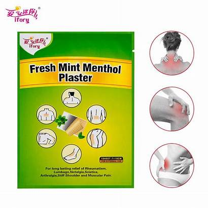 Relief Pain Medicated Health Menthol Plaster Joint