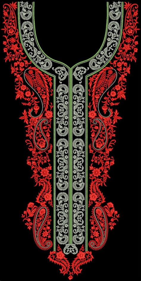 Free EMB Embroidery designs: Neck Design