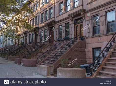brownstone for sale nyc york city ny usa historic townhouses