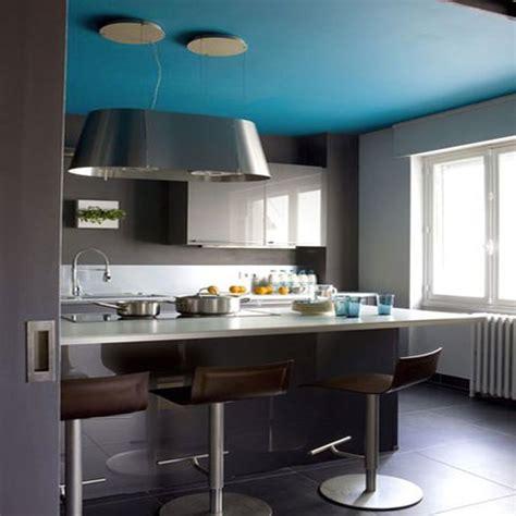 cuisine mur en best mur de cuisine peint en bleu images amazing house