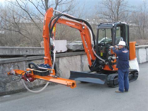 rock drill attachment  excavator