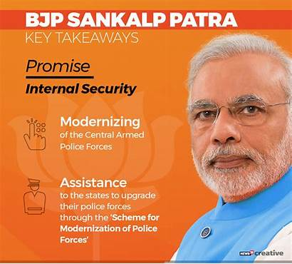 Bjp Manifesto Election Elections Modi Lok Sabha
