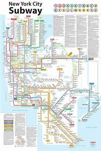 A Redesign Of The Subway Map  From One Of Its Designers