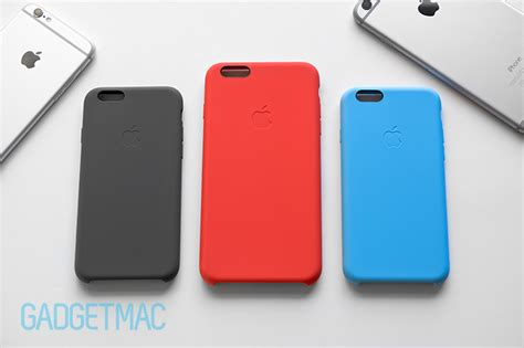 apple iphone 6 cases apple iphone 6 6 plus silicone review gadgetmac