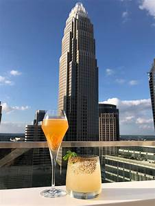 Charlotte Epicenter Nuvolé A Swanky Rooftop Bar And Lounge Is Now Open On