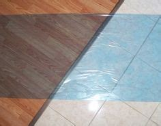 Applying Floor Protection Tape   TapeManBlue's Products