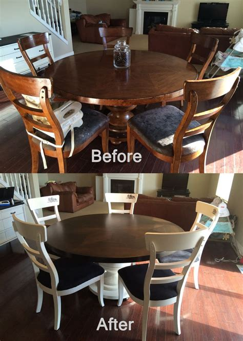 kitchen table chairs refresh kitchen table makeover