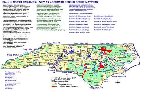 map  nc cities  counties  travel information