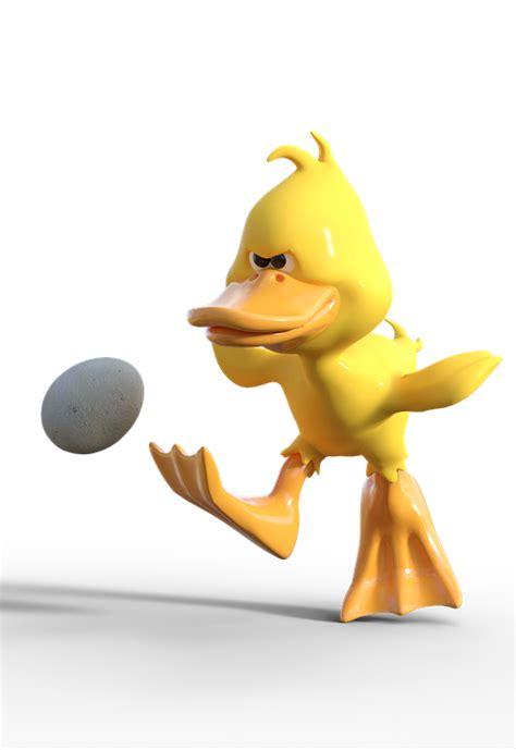 photo duck cartoon shot egg football easter shoot