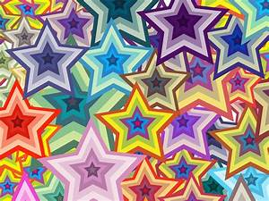 Colorful Stars Background Vector Art & Graphics ...