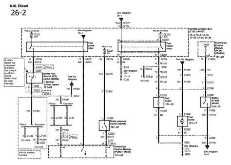 89 Ford E 250 Fuse Diagram by Wiring Diagram For Fuel Circuit Ford Truck