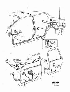 Volvo 740 Wiring Harness  Abs  Cabin  Cable Harness  System  Electrical  Classic