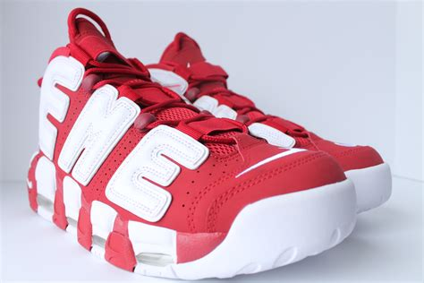 authentkicks nike supreme air  uptempo