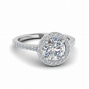 alluring pave micropave set engagement rings With halo wedding rings for women
