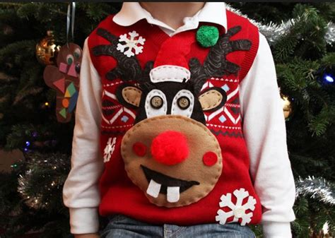 ugly light up christmas sweaters ugly christmas sweater contest the dazzling duo