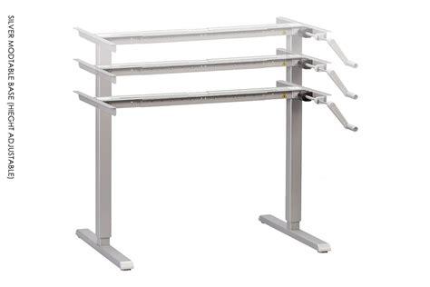 bureau reglable en hauteur table reglable en hauteur manivelle