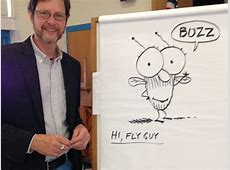 Tedd Arnold, author and illustrator, visits Royle