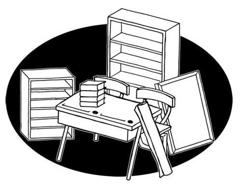 logo mobilier de image de mobilier en dessin