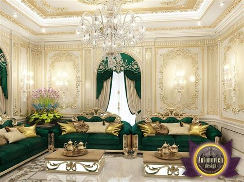 Arabic House Style By Luxury Antonovich Design , Katrina