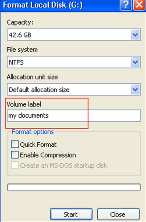 diskpart  format usb flash drive memory card hard disk