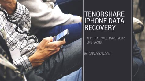 tenorshare iphone data recovery review tenorshare iphone data recovery tool review 2016