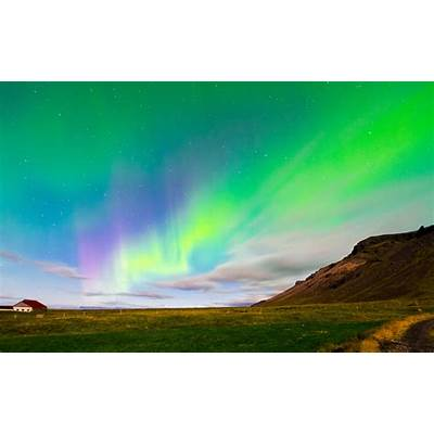 Iceland aurora borealis northern lights - HDWallpaperFX