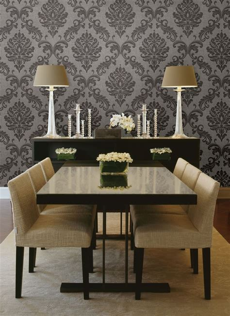 Wall For A Dining Room - best 25 dining room wallpaper ideas on wall