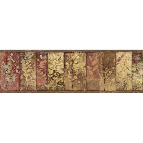 york wallcoverings sunflower wallpaper border cbbd  home depot