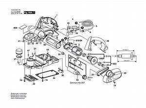Buy Bosch 3365  0603365139  3 4 U0026quot  X 5  64 U0026quot   2 Mm  Planer W
