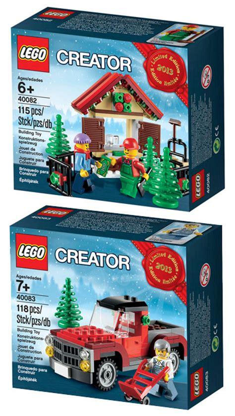 lego  holiday sets revealed  lego