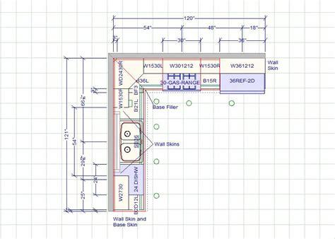10 X 10 Standard Kitchen Dimensions  Cabinet Sense
