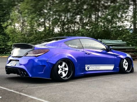 Wide body kit V.1 for Hyundai Genesis Coupe for Hyundai Genesis Coupe | Monsterservice