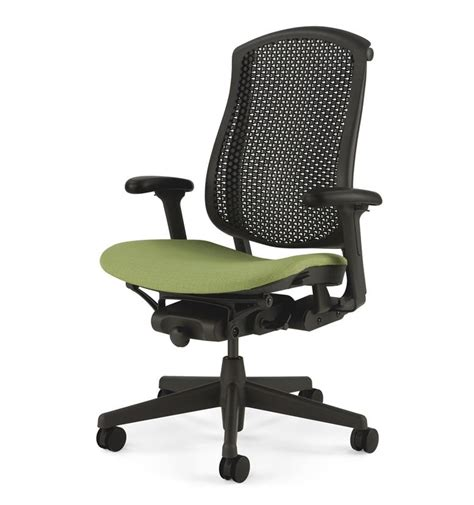 herman miller celle with upholstered seat cushion office