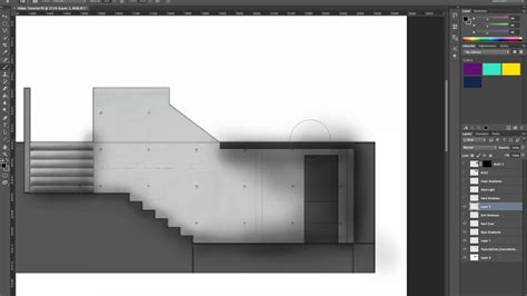 video tutorial architectural atmosphere  photoshop
